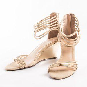 Aldo Tan Wedge Espadrille Ankle Sandals